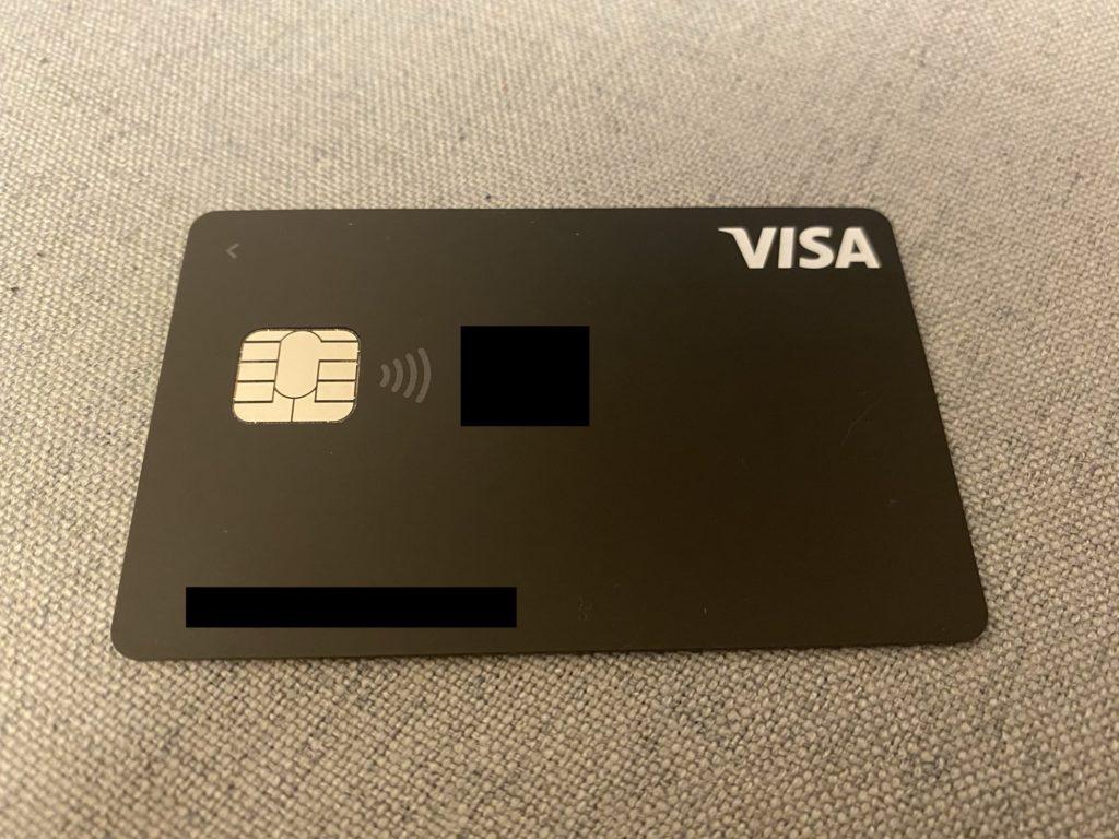 Visa LINE Payカードの通常デザイン