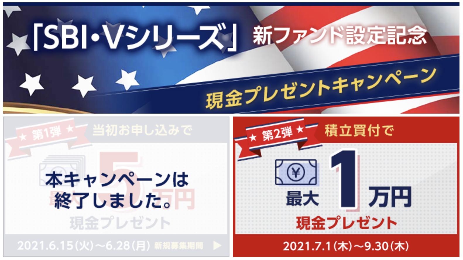 SBI・Vシリーズキャンペーン